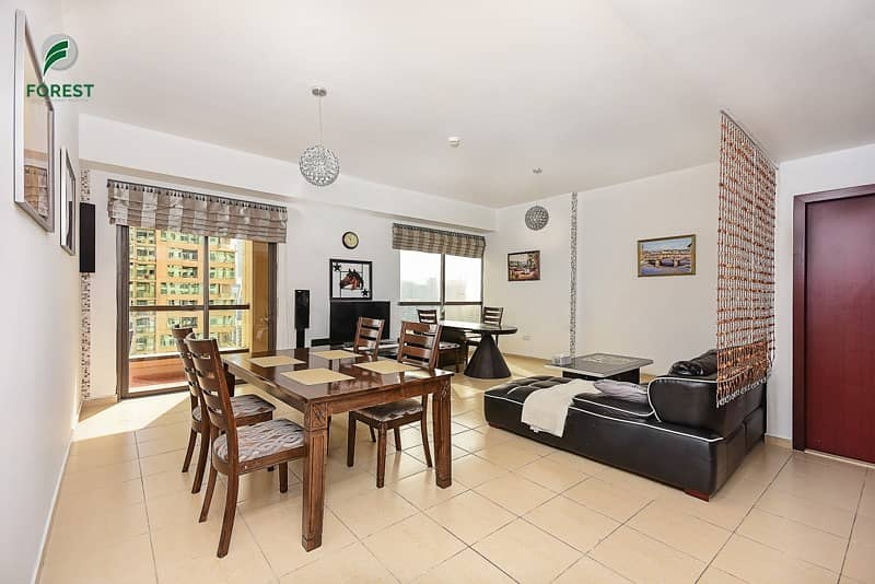 2 Best Layout 2 BR with Full Marina View Furnished
