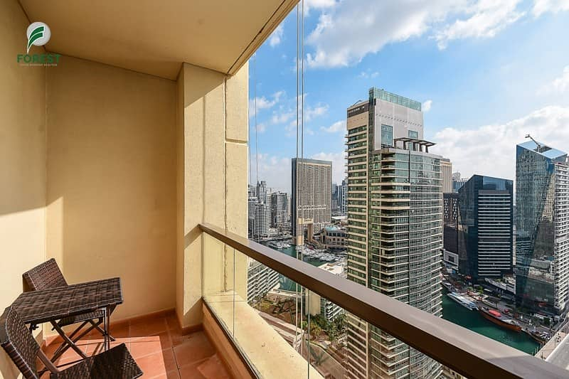 12 Best Layout 2 BR with Full Marina View Furnished