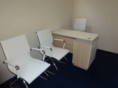 Office for Rent in Bur Dubai, Dubai - BRAND NEW OFFER , SEPARATE FITTED OFFICE WITH LOWEST RENT , FREE DEWA & MEETING ROOM