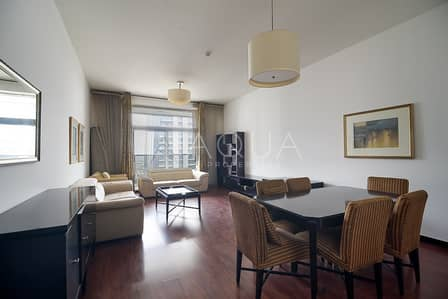 2 Bedroom Apartment for Rent in Jumeirah Lake Towers (JLT), Dubai - Furnished | 2 Bedroom with Full Lake View