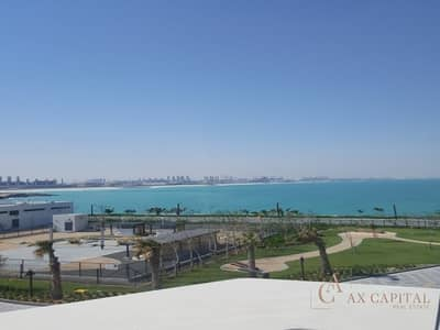 Sea View I 3 Bedroom + Maids I Bluewaters