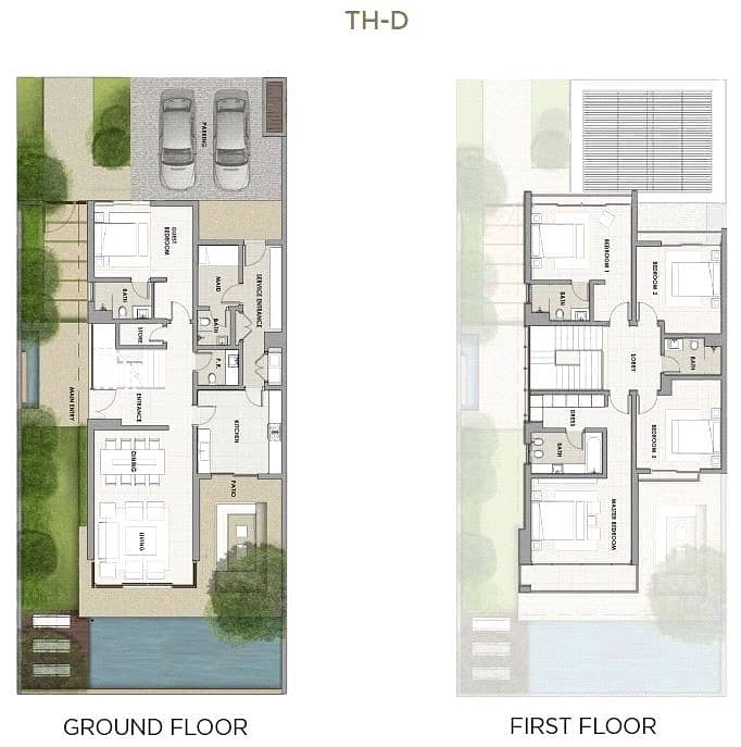 10 5 Bed TH-D | Single Row | Available Now