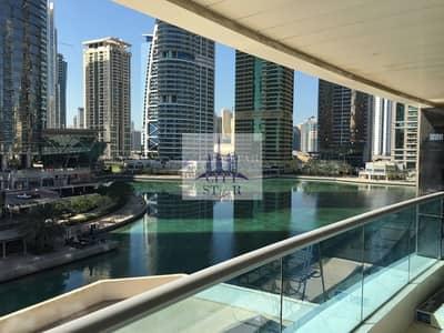 شقة 1 غرفة نوم للايجار في أبراج بحيرات الجميرا، دبي - Chiller Free 1 BR facing lake in JLT Concorde