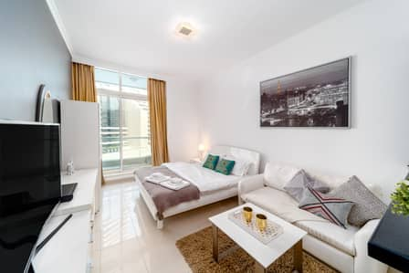 Studio for Rent in Dubai Marina, Dubai - MODERN SEA VIEW STUDIO IN DUBAI MARINA!