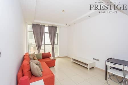 شقة 1 غرفة نوم للايجار في دبي مارينا، دبي - 1 Bed  Beautiful View Of The Palm Skyview Tower