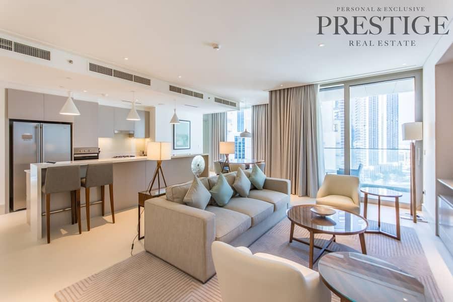 2 Cheapest unit with full Buj Khalifa views brand new