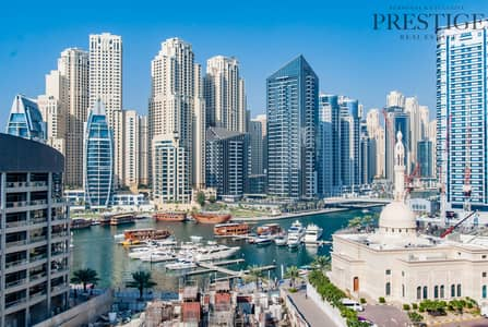 3 Bedroom Apartment for Sale in Dubai Marina, Dubai - Full Marina View | 3 Bed | Spacious family home