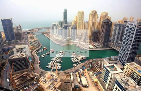 1 Bedroom Apartment for Rent in Dubai Marina, Dubai - MUST VIEW | 1BR with Dazzling view of Dubai Marina