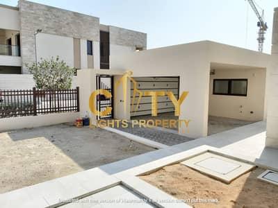 5 Bedroom Villa for Rent in Saadiyat Island, Abu Dhabi - Amazing 5BR Modern Villa for Rent in HIDD Al Saadiyat