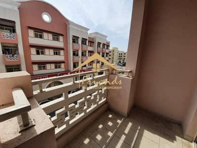 شقة 1 غرفة نوم للايجار في المدينة العالمية، دبي - D08 BUILDING! ONE BEDROOM WITH BALCONY! READY TO MOVE