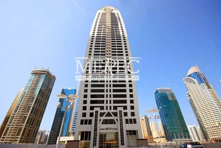 Office for Rent in Jumeirah Lake Towers (JLT), Dubai - Amazing View | Fitted Office Dubai Arch Tower | JLT