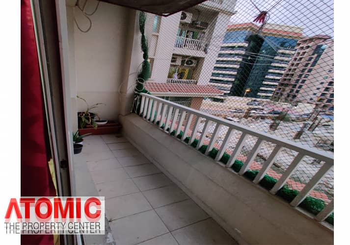 2 With Balcony // One BHK  For Rent In CBD (Full Facilities Building)