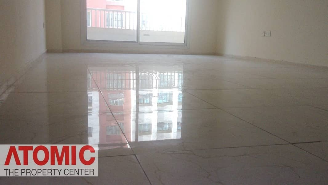 With Balcony // One BHK  For Rent In CBD (Full Facilities Building)