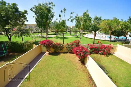 3 Bedroom Villa for Rent in The Springs, Dubai - Immaculate 3M - Backing Park & Pool - Available April