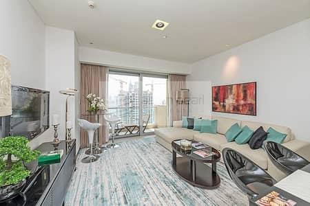 شقة فندقية 1 غرفة نوم للايجار في دبي مارينا، دبي - 12 Month Payment | Upgraded | Marina View | Vacant