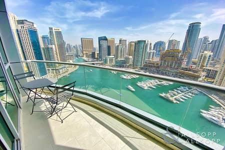 فلیٹ 2 غرفة نوم للبيع في دبي مارينا، دبي - The Point | Full Marina Views | 2 Bedrooms