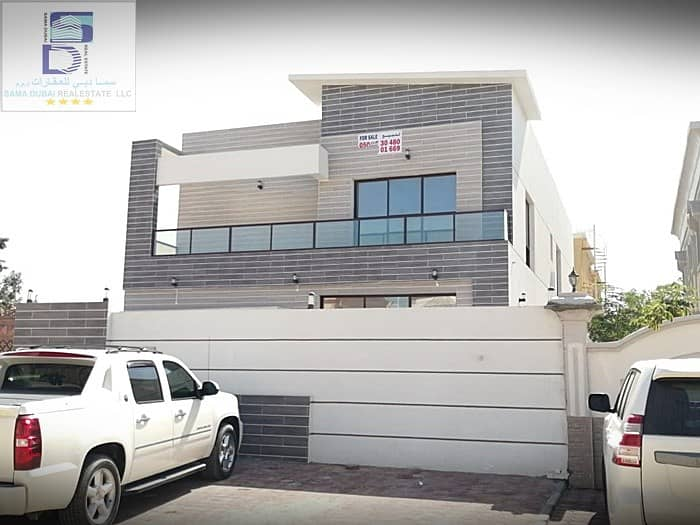 Brand New villa for sale in Ajman free hood for any nationlity