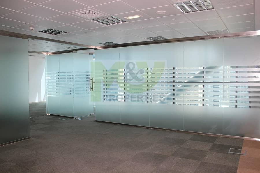 2 Fully Fitted Office for rent with Glass Partition in JLT