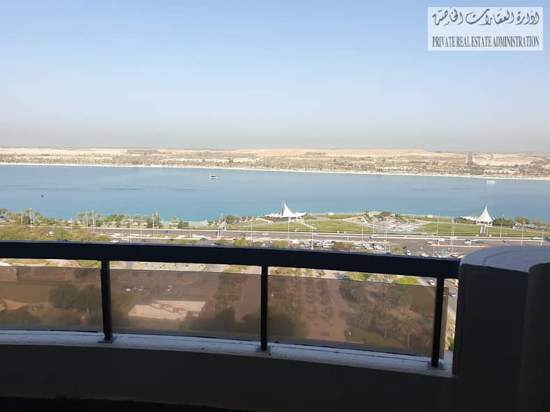 Direct from the owner, Good deal , an charming 4 BHK apartment on the abu dhabi corniche
