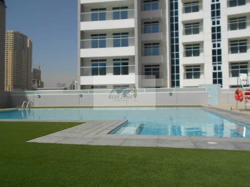 30 DAYS FREE EXCELLENT BRAND NEW1BHK WITH POOL GYM PARKING ONLY FOR FAMILIES IN 45K