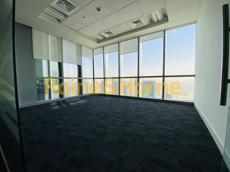 2 Magnificent Fully Fitted | Partitioned Office in Marina Plaza