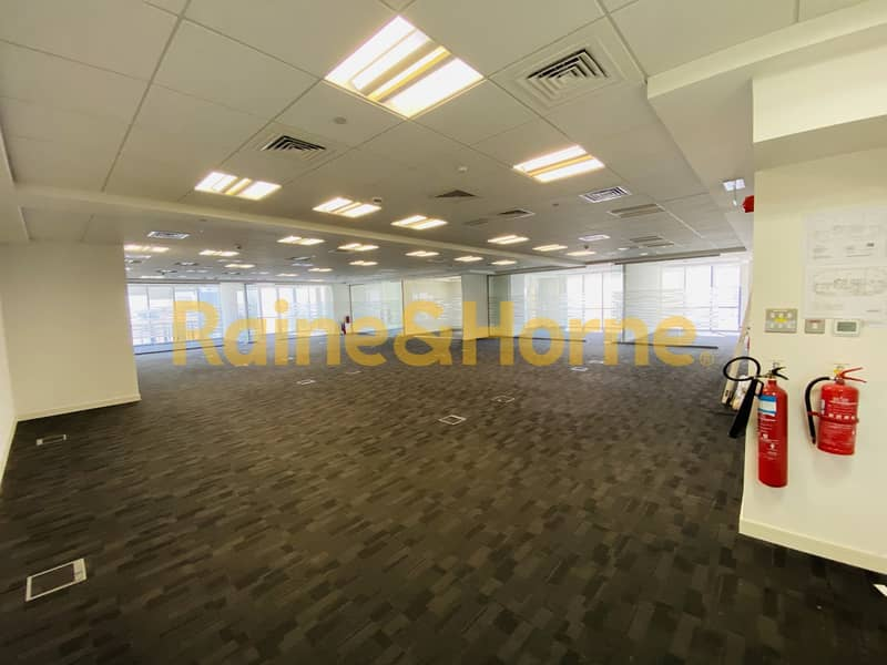21 Magnificent Fully Fitted | Partitioned Office in Marina Plaza