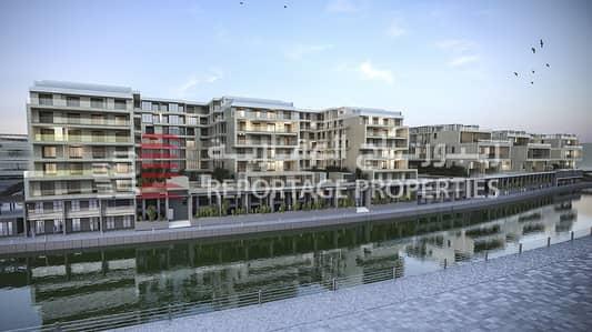 شقة 1 غرفة نوم للبيع في شاطئ الراحة، أبوظبي - شقة بغرفة نوم رائعة مع إطلالة مبهرة على قناة المياه