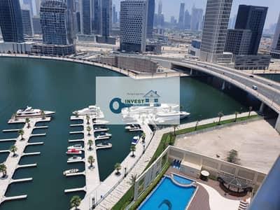 فلیٹ 2 غرفة نوم للايجار في الخليج التجاري، دبي - BEST DEAL | Lavish Life |Fully Furnished | Full Canal & Burj View
