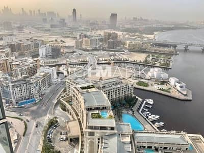 2 Bedroom Flat for Rent in Culture Village, Dubai - UPCOMING Creek and City View Spacious Layout 2 Beds
