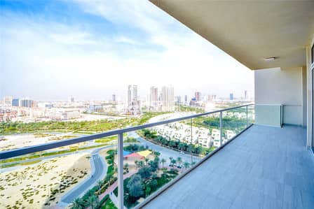 2 Bedroom Apartment for Sale in Jumeirah Village Circle (JVC), Dubai - Burj Khalifa View | Huge Balcony | Brand New 2 Bed