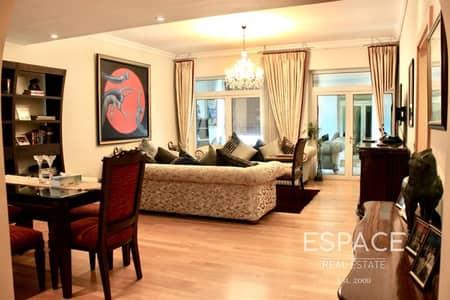 فلیٹ 2 غرفة نوم للايجار في نخلة جميرا، دبي - Fully Furnished 2 Bedrooms F Type in Shoreline 8 on Palm Jumeirah