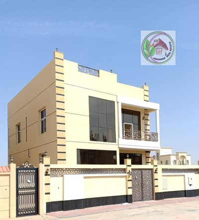 5 Bedroom Villa for Sale in Al Yasmeen, Ajman - I own a very elegant villa in Jasmine area with Islamic financing without down payment