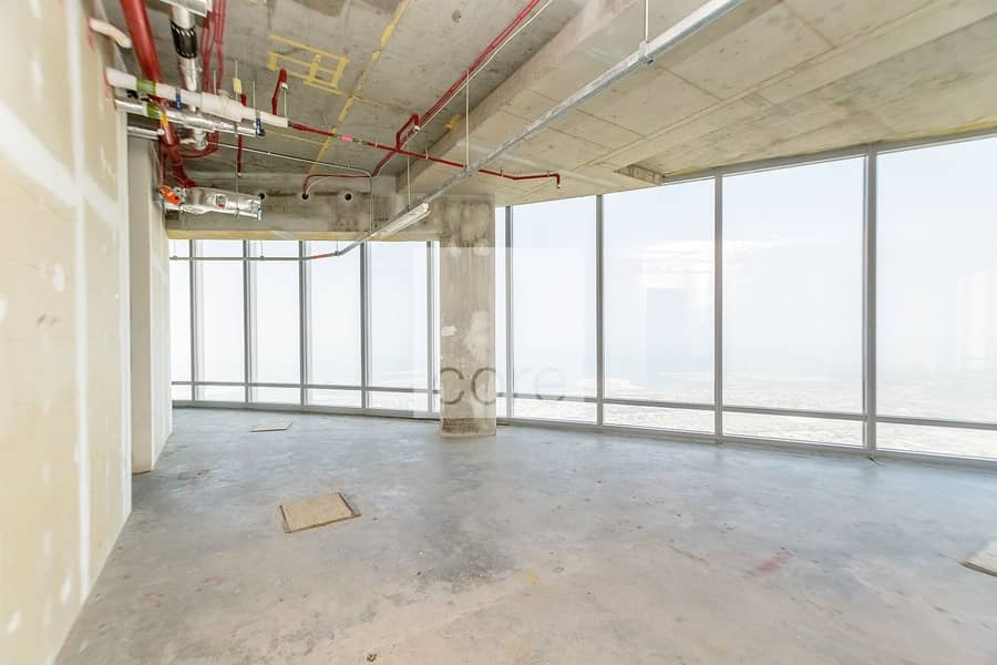 1 Vacant On High Floor | Shell and Core Office