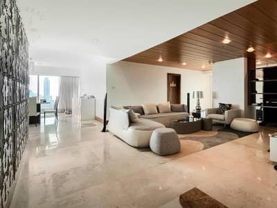 3 BEDROOMS FULLY FURNISHED+MAID IN WORLD TRADE CENTER RESIDENCE FOR RENT