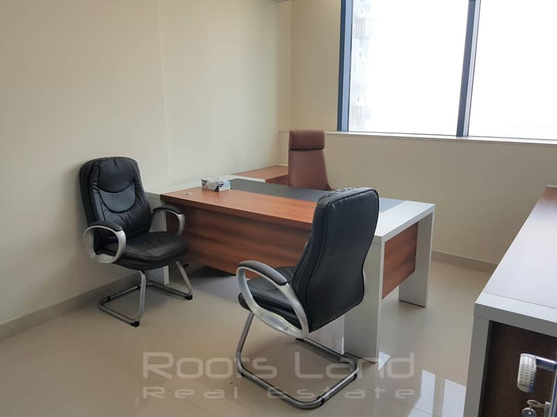 2 Fully Fitted Office & Full Golf View