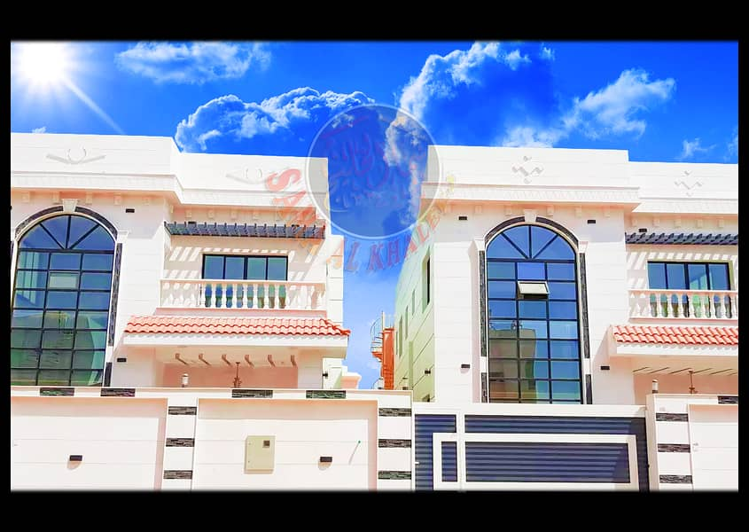 Luxurious villa with attractive European design - water and electricity