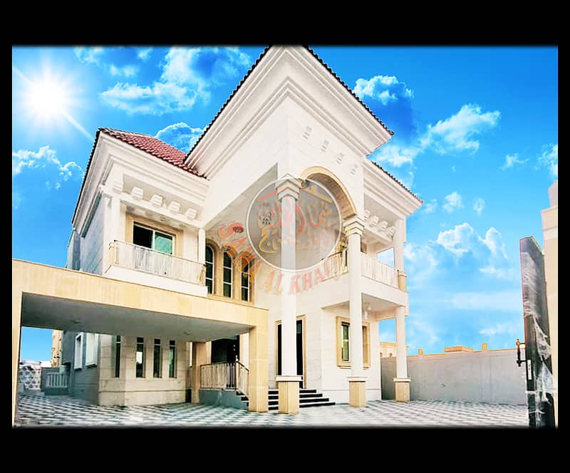 Modern villa 5 rooms master with an area of 5200 feet for sale