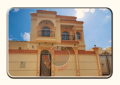 5 Bedroom Villa for Sale in Al Helio, Ajman - A modern villa of  two floors and 5 master rooms