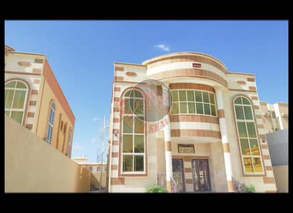 5 Bedroom Villa for Sale in Al Rawda, Ajman - Two storey villa, stone facade for sale in Ajman