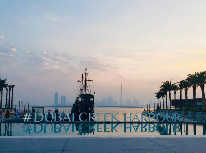 Creek View   1Bedroom For Rent in Dubai Creek Habrour Residence   Call Now