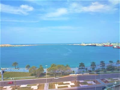 3 Bedroom Flat for Rent in Corniche Road, Abu Dhabi - Stunning Sea View 2 Master Bedrooms  + Maids
