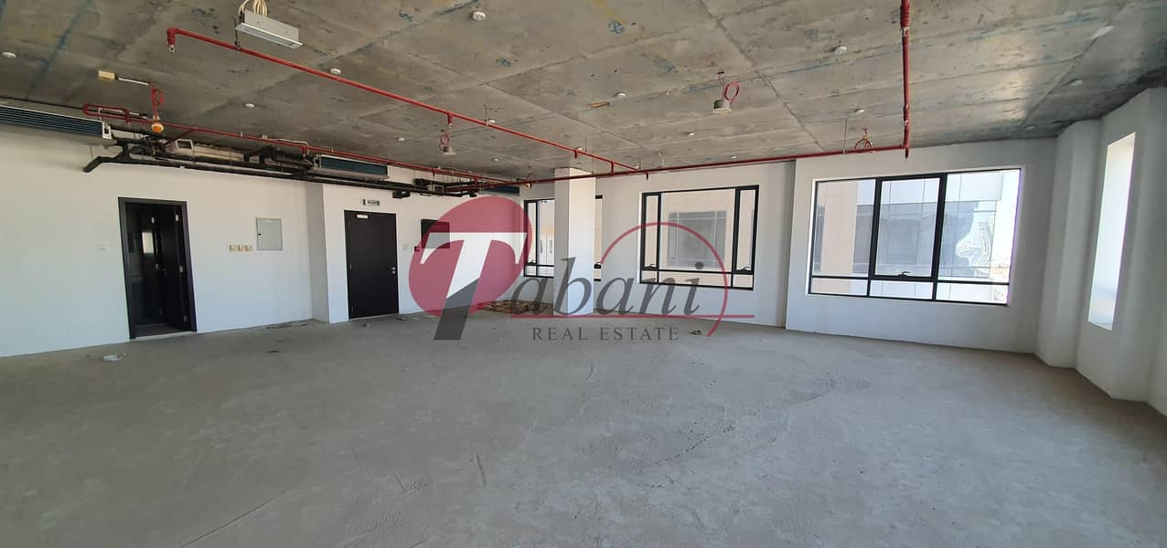 2 Shell and core office for rent in JVC