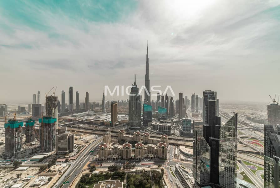 12 Stunning 2 Bedroom Apartment in Index Tower. DIFC