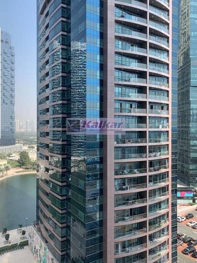 استوديو  للايجار في أبراج بحيرات الجميرا، دبي - Gold Crest Views 1