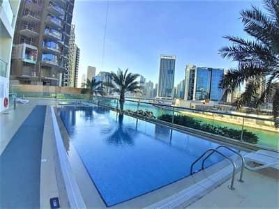 شقة 1 غرفة نوم للايجار في الخليج التجاري، دبي - Bright 1BHK   Canal View   Well Maintained