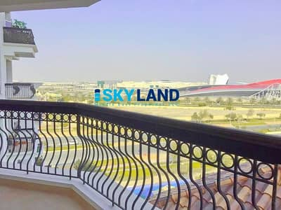 2 Bedroom Apartment for Rent in Yas Island, Abu Dhabi - VACANT w/ Closed Kitchen ! Ferrari World Views