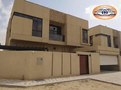 فیلا 5 غرف نوم للبيع في المويهات، عجمان - فيلا مودرن للبيع لاصحاب الذوق الرفيع مع التمويل البنكى