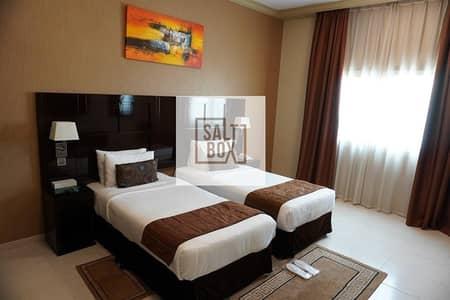 شقة فندقية 1 غرفة نوم للايجار في شارع الشيخ زايد، دبي - Fully Furnished 1BHK   SZR   Bills & Utilities Paid