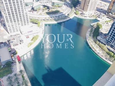 Studio for Rent in Jumeirah Lake Towers (JLT), Dubai - IM | Full Lake View | Studio with Parking