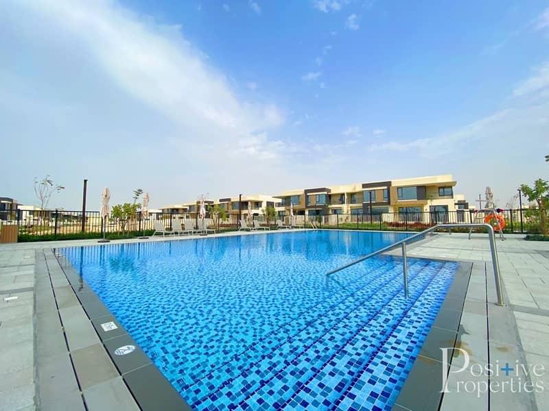 2 Full pool View | Near to Amenities | Corner Unit | Big Plot